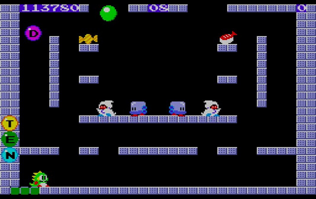 bubble bobble game